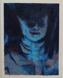 Aniki, Öl auf Leinwand, 70x 90 cm, 2015