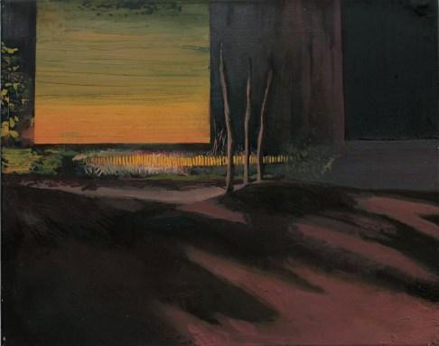 Projektionsfläche, Öl auf Leinwand, 40 x 50cm, 2013