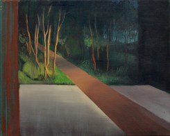 Weg, öl auf Leinwand, 40 x 50 cm, 2013